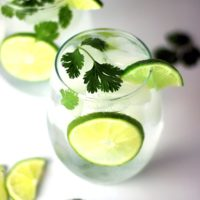Cilantro Lime Water Recipe