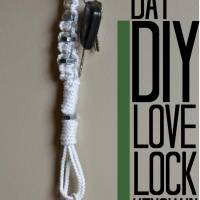 DIY Project: Father's Day Love Lock #DIY #FathersDay