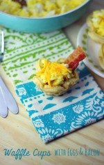 Breakfast Waffle Cups Recipe + See How To Get Fluffier Eggs at Sam's Club on June 30th!
