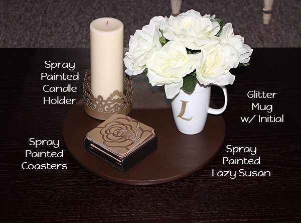 Cute ideas to create your own decor for your coffee table.