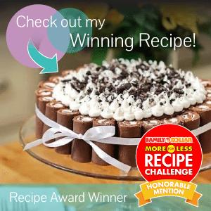 Recipe Award Winner