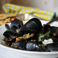 Masala Moules Frites_Aarti Sequeira