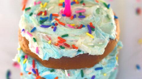 Birthday Cake Cream Cheese