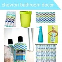 Chevron Bathroom Decor Made Easy with Exclusive LISTERINE Bottles at Target