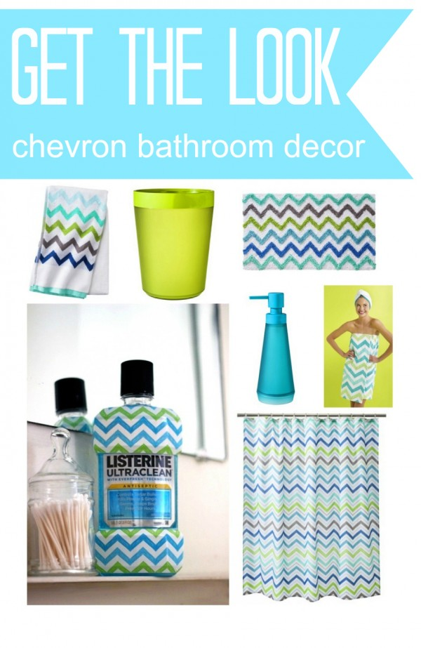 Chevron Bathroom Ideas E1406225543250