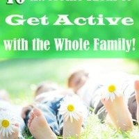 "Getting Active: 10 Ideas to ""Do More"" with the Whole Family (+Giveaway)"