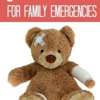 8 Tips to Help You Prepare for Family Emergencies #JNJWoundCare