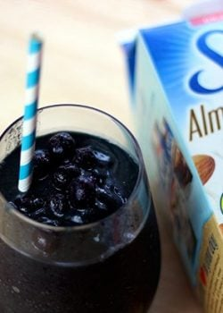 Hydrating Post Workout Smoothie Recipe with Silk Almond Coconut blend #SilkAlmondBlends