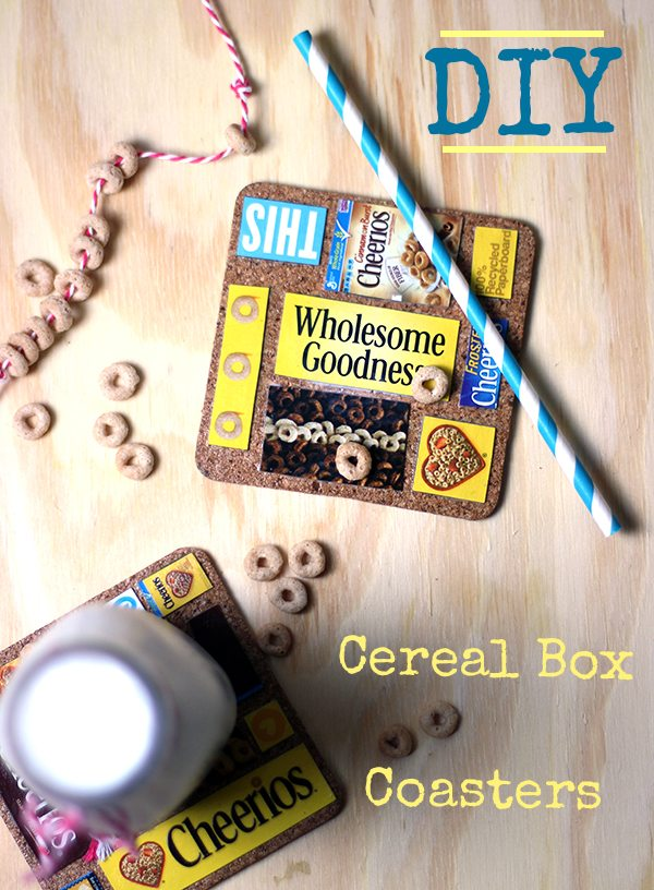 Upcycle your empty cereal boxes with this fun and simple project