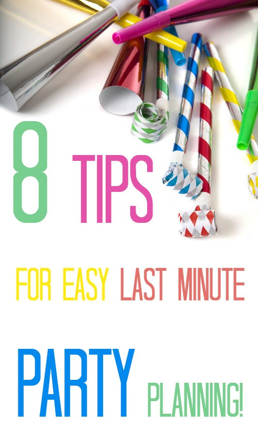 awesome shortcuts for party planning