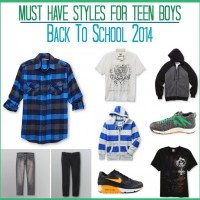 Must have styles for teen boys for back to school 2014