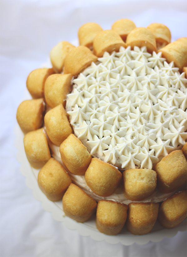 oh.my. easiest cake ever with Twinkies