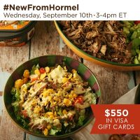 #NewFromHormel-Twitter-Party-9-10-14