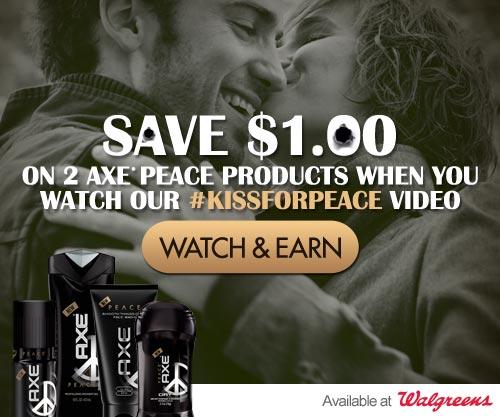 #KissForPeace