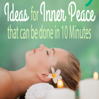 20 Ideas for Inner Peace that can be done in 10 Minutes (Giveaway)