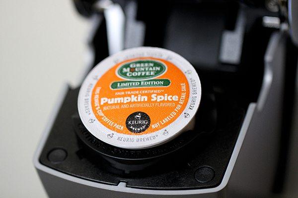 pumpkin spice kcups