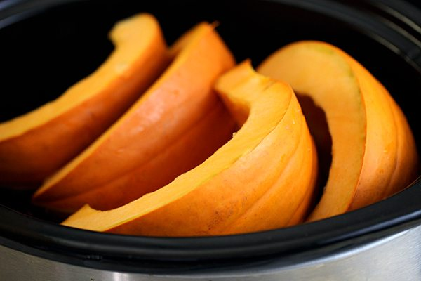 slow cooker pumpkin