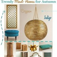 Spruce Up Your Space: Trendy Must-Haves for Autumn