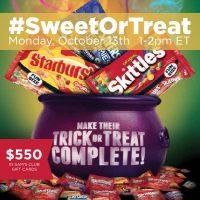 #SweetOrTreat-Twitter-Party-10-13-1pmEST