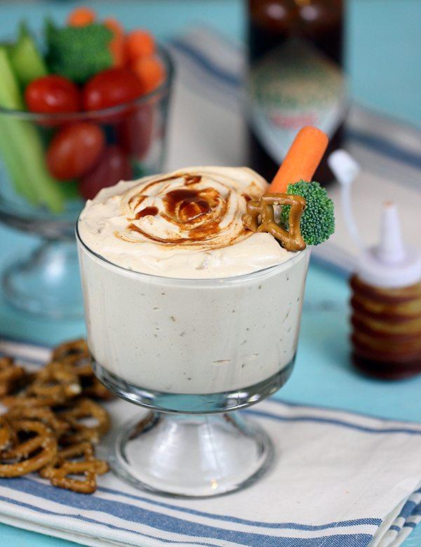 4 Ingredient (Mind Blowing) Creamy Chipotle Onion Dip