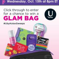 kotex twitter party