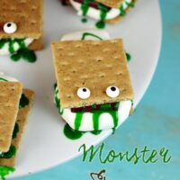 Easy Treat: Monster S'mores