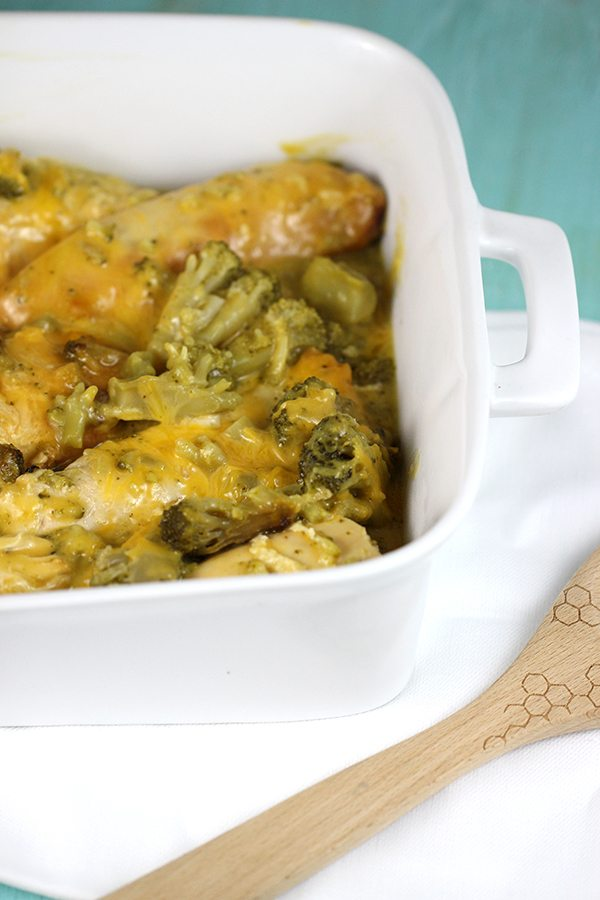 slow cooker broccoli and cheese chicken