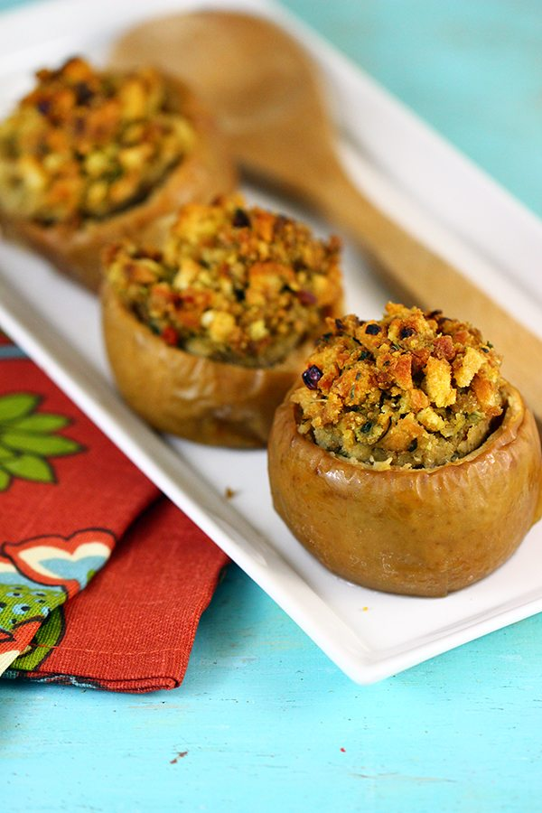 apples with stuffing