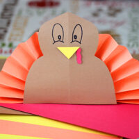 construction paper turkey