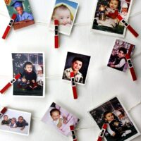 totall easy and cute clothespin santa craft