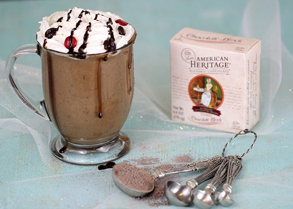 the richest slow cooker hot chocolate ever