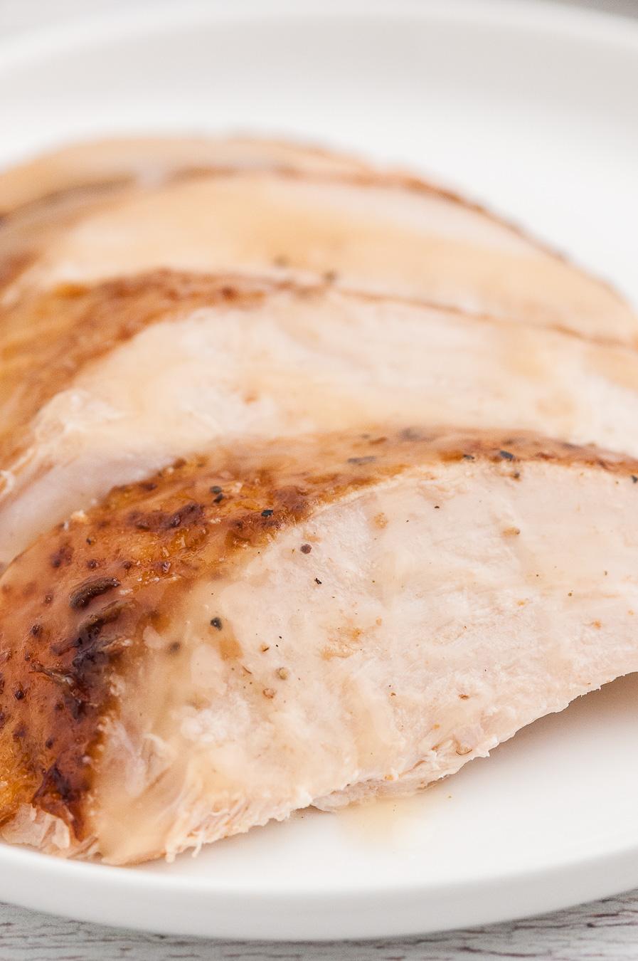 sliced moist slow cooker turkey