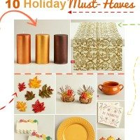 10 Must Have Tablescape Ideas for Thanksgiving #ShareTheJoy_WM