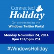RSVP for #WindowsHoliday Twitter Party on 11/22/2014 at 8pm ET #ad