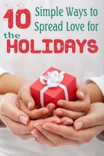 10 Simple Ways To Spread Love for the Holidays #MoreChristmas
