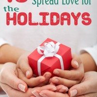 10 simple ways to spread love for the holidays.
