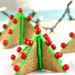 graham crackers christmas tree