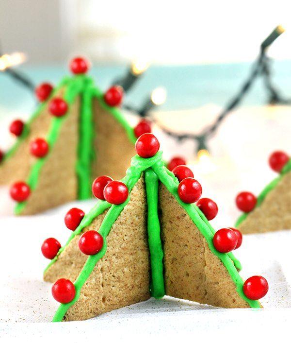 graham crackers christmas tree