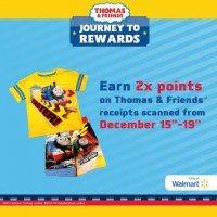 Santa's Pick: Thomas & Friends Walmart Gift Card & Spa Prize Giveways