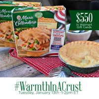 RSVP for the #WarmthInACrust Twitter Party
