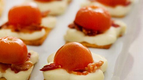 Easy Cheesy Bacon Appetizer