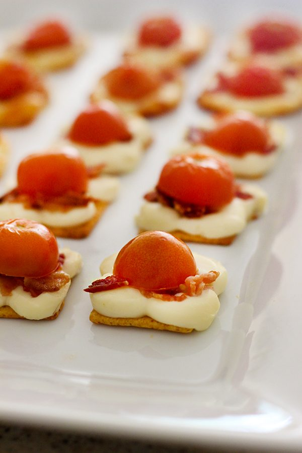 bacon cheese appetizer