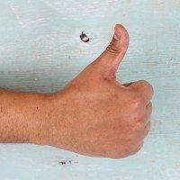 moisturized hands
