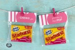 Free Valentine's Day Printables for gifting Juicy Fruit® gum with Starburst® flavors