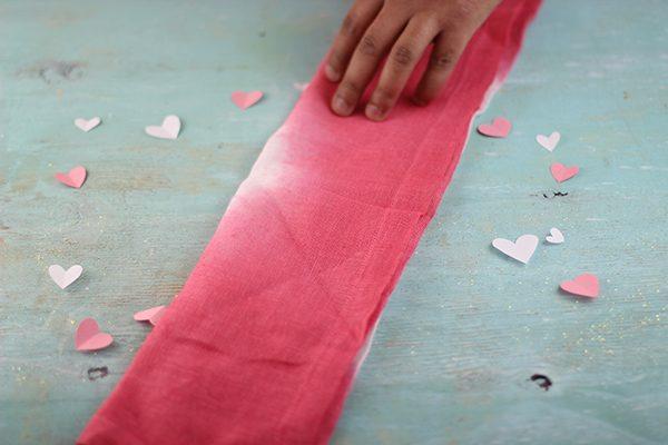 heart napkin folding