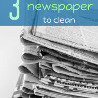 Clever ideas to use newspaper to clean your home #homemakinghacks