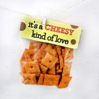 """It's a Cheesy Kind of Love"" Valentine's Day Printables"