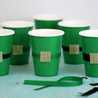 diy leprechaun cups