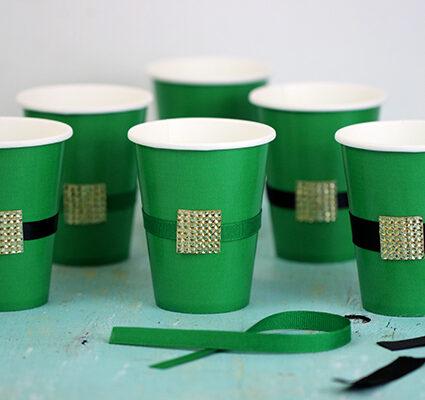 diy leprachaun cups