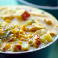 Hearty Chicken & Veggie Chowder & Pinterest Sweepstakes for American Heart Month